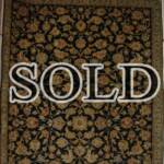 Esfahani Persian Rug Gallery  ORIGIN: IRAN/ STYLE: KASHAN / DESIGN: MEDALION  PILE: WOOL / FOUNDATION: COTTON  LENGTH FT: 10.01/ WIDTH FT: 6.50/ SQF: 65.00  LENGTH M: 3.05 / WIDTH M: 1.98/ SQM: 6.04  APPROX AGE: OVER 40 YEARS / APPROX KPSI: 250  INVENT # 1112