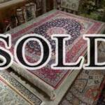 Esfahani Persian Rug Gallery  Origin: IRAN/ STYLE: ISFAHAN / DESIGN: MEDALION  Pile: SILK & FINE WOOL 	/ FOUNDATION: SILK  Length FT: 10.33/ WIDTH FT: 6.82/ SQF: 70.53  Length M: 3.15 / WIDTH M: 2.08/ SQM: 6.55  Approx age: NEW/ APPROX KPSI: 350  Invent # 1166
